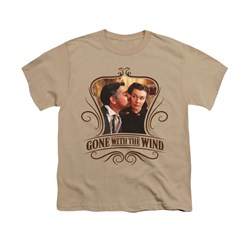 Gone With The Wind Shirt Kids Kissed Sand Youth Tee T-Shirt