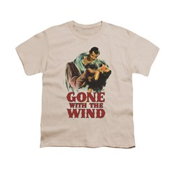 Gone With The Wind Shirt Kids My Hero Cream Youth Tee T-Shirt