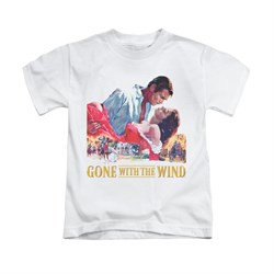 Gone With The Wind Shirt Kids On Fire White Youth Tee T-Shirt