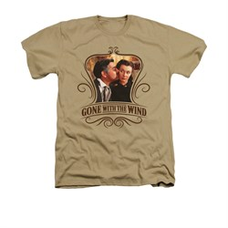 Gone With The Wind Shirt Kissed Adult Heather Sand Tee T-Shirt