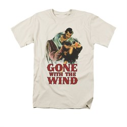 Gone With The Wind Shirt My Hero Adult Cream Tee T-Shirt