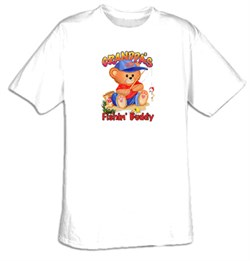 Grandpa's Fishin' Buddy (kid's) Youth T-shirt Tee Shirt