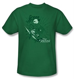 Green Arrow Kids T-shirt - The Emerald Archer Kelly Green Tee Youth