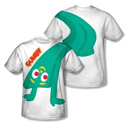 Image of Gumby Shirt Bend Backwards Sublimation Shirt Front/Back Print
