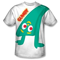 Image of Gumby Shirt Bend Backwards Sublimation Shirt