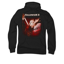 Image of Halloween II Hoodie Sweatshirt Nightmare Black Adult Hoody Sweat Shirt