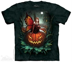 Halloween Fairy Shirt Tie Dye Adult T-Shirt Tee