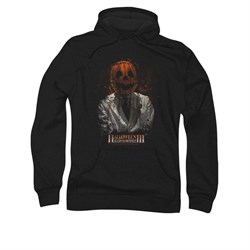 Image of Halloween III Hoodie Sweatshirt H3 Scientist Black Adult Hoody Sweat Shirt