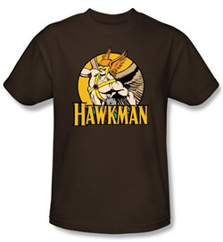 Hawkman T-Shirt ? Circle DC Comics Adult Coffee Tee