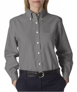 Image of High Quality Ladies' Classic Wrinkle Free Long Sleeve Oxford