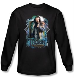 Image of Hobbit Shirt Movie Unexpected Journey Thorin Oakenshield Long Sleeve