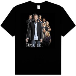 T-Shirt | House | Youth | Black | Size | Kid | Tee | TV
