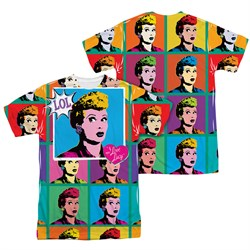 I Love Lucy LOL Sublimation Shirt Front/Back Print
