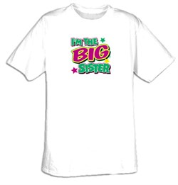 I'm The Big Sister Youth Kids T-shirt Tee Shirt