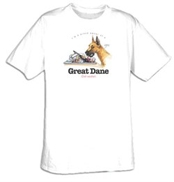 Image of Great Dane Shirt I'm a Proud Owner of a Great Dane Tee