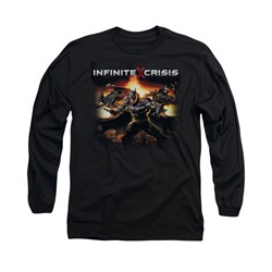 Infinite Crisis Shirt Batman Long Sleeve Black Tee T-Shirt