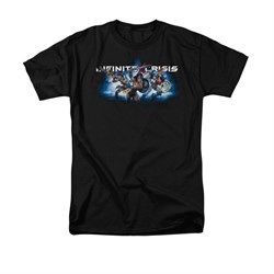 Infinite Crisis Shirt Wonder Woman Black T-Shirt