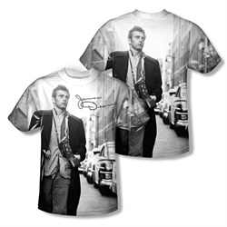 James Dean Shirt Street Walk Sublimation Youth Shirt