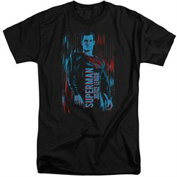 Justice League Movie Shirt Superman Black Tall T-Shirt