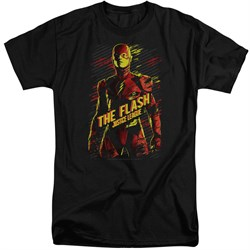 Justice League Movie Shirt The Flash Black Tall T-Shirt