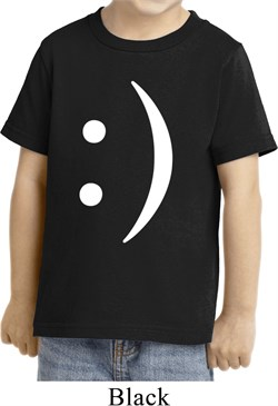 Image of Kids Funny Shirt Smiley Chat Face Toddler Tee T-Shirt