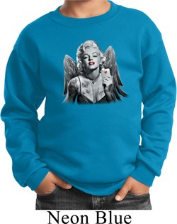 Kids Marilyn Monroe Sweatshirt Marilyn Butterfly Sweat Shirt