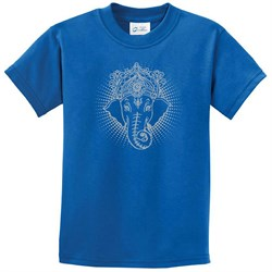 Kids Yoga Shirt Iconic Ganesha Tee T-Shirt