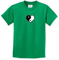 T-Shirt | Heart | Small | Shirt | Print | Yoga | Kid | Tee