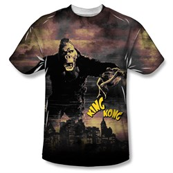 Image of King Kong Kong In The City Sublimation Shirt