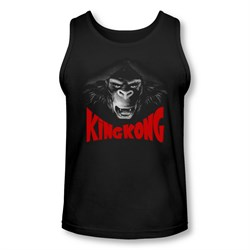 Image of King Kong Tank Top Kong Face Black Tanktop