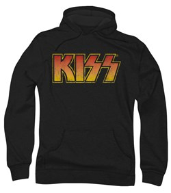 Kiss Rock Band Hoodie Sweatshirt Classic Black Adult Hoody Sweat Shirt