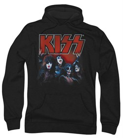 Kiss Rock Band Hoodie Sweatshirt Kings Black Adult Hoody Sweat Shirt
