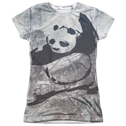 Kung Fu Panda 3 Brushed Po Sublimation Juniors Shirt