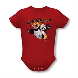 Kung Fu Panda Baby Kaboom Of Doom Red Infant Babies Creeper