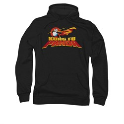 Kung Fu Panda Hoodie Sweatshirt Logo Black Adult Hoody Sweat Shirt