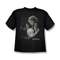 Image of Labyrinth Shirt Kids Dream Dance Black Youth Tee T-Shirt