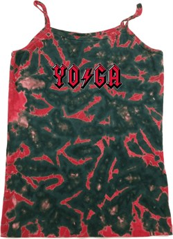Image of Ladies Tanktop Classic Rock Yoga Tie Dye Camisole Tank Top