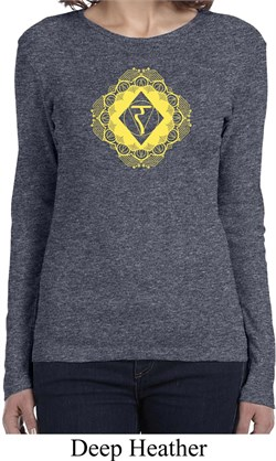 Image of Ladies Yoga Diamond Manipura Long Sleeve