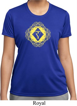 Image of Ladies Yoga Diamond Manipura Moisture Wicking T-shirt
