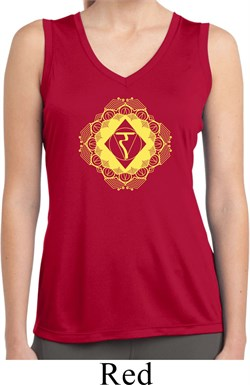 Image of Ladies Yoga Diamond Manipura Moisture Wicking Tank Top