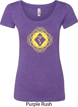 Image of Ladies Yoga Diamond Manipura Scoop Neck