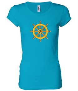 Ladies Yoga Shirt Dharma Longer Length Tee T-Shirt