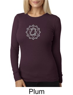 Ladies Yoga T-shirt ? Anahata Heart Chakra Thermal Shirt