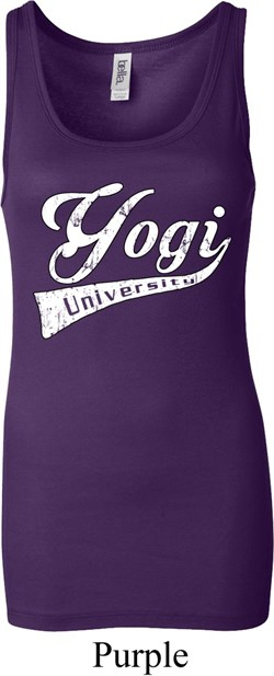 Image of Ladies Yoga Tanktop Yogi University Longer Length Tank Top