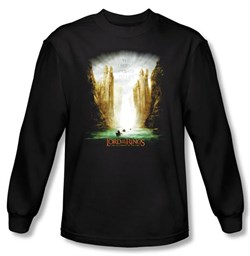 Lord Of The Rings Long Sleeve T-Shirt The Fellowship Of The Ring Shirt
