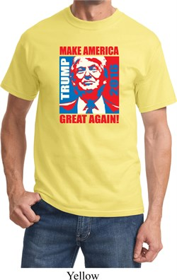 Donald Trump Shirt Make America Great Again Portrait