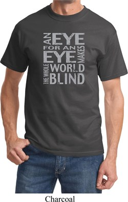 Image of Mens An Eye for an Eye T-shirt
