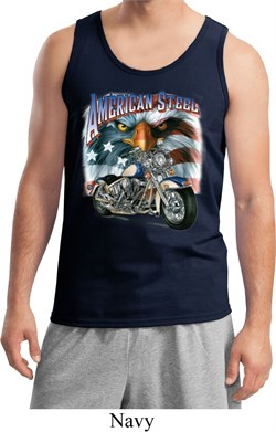 Image of Mens Biker Tanktop American Steel Tank Top