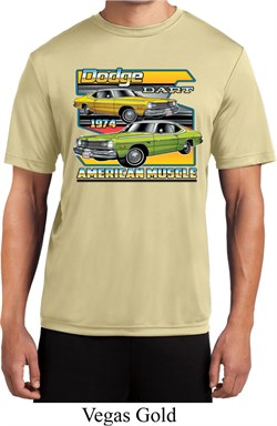Mens Dodge Shirt Dodge Dart Moisture Wicking Tee T-Shirt