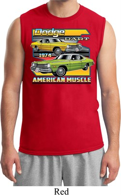 Mens Dodge Shirt Dodge Dart Muscle Tee T-Shirt